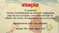 COMUNICADO SOBRE A ÚLTIMA LIVE - 26/11/2020